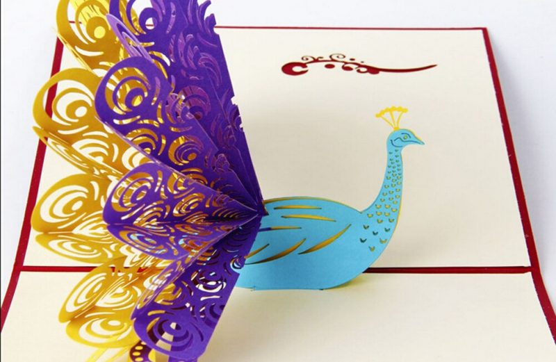 Custom Greeting 3D Cards