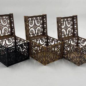 Set Of Spiral Box