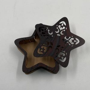 Wooden Star Box