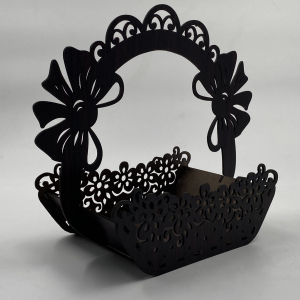 Flower Basket Wooden